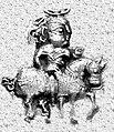 King on a horse, coinage of Khingila.jpg