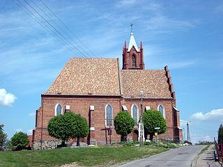 Kisielice Place in Warmian-Masurian Voivodeship, Poland
