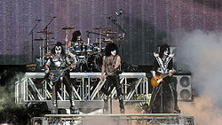 Kiss beim Sauna Open Air Festival 2010.