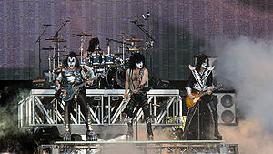 Wishology - The rock band Kiss made a guest appearance in Wishology. Gene Simmons (left) and Paul Stanley (center) provided voice roles.