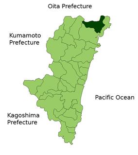 Kitagawa, Miyazaki human settlement in Japan