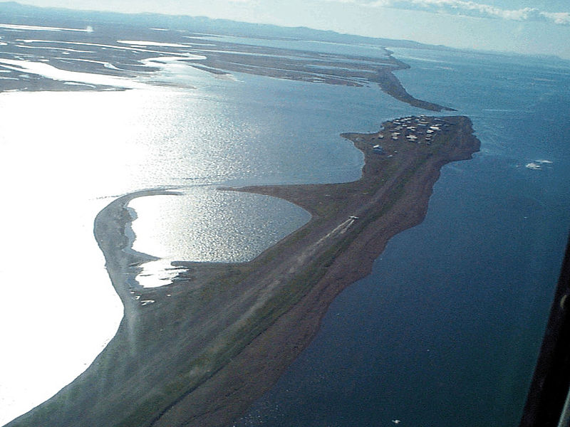 File:Kivalina Alaska aerial view.jpg