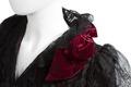 Klänning, detalj. Foto till boken: Ett sekel av dräkt och mode ur de Hallwylska samlingarna - Hallwylska museet - 90090.tif