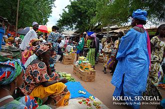 Kolda - Kolda town centre market