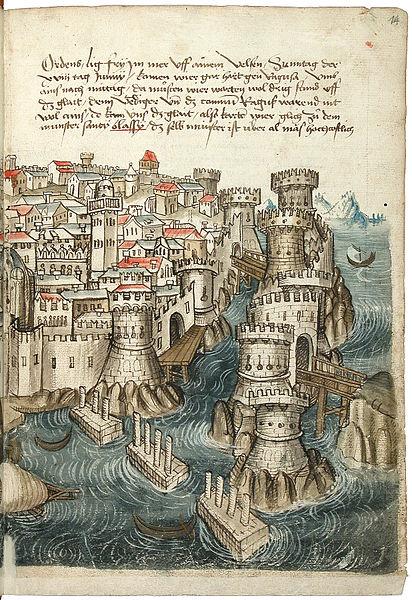 File:Konrad von Grünenberg - Beschreibung der Reise von Konstanz nach Jerusalem - Blatt 14r - 033.jpg