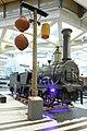 Korbsignal mit Dampflokomotive Ajax im Technischen Museum Wien.jpg