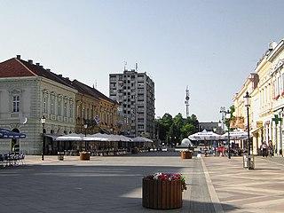 Slavonski Brod City in Brod-Posavina, Croatia