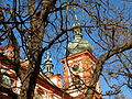 Kostel Nanebevzetí Panny Marie, Stará Boleslav, věže.JPG