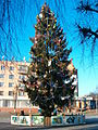 Kostopil, New year tree.jpg