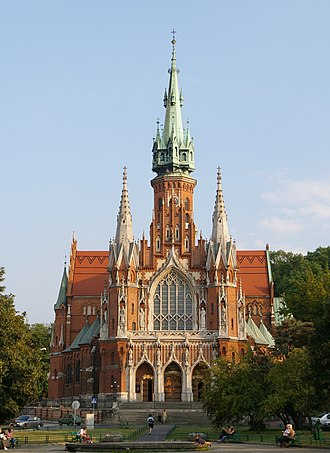 Podgórze - St. Joseph's Church, built 1905–1909