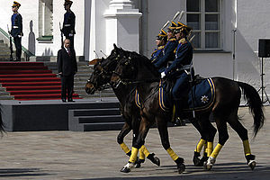 Kremlin Regiment - Presidential Regiment's Cavalry Escort, 2006