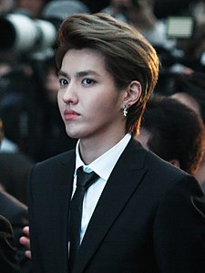 Kris Wu at the Hallyu Star Street on March 2014 02.jpg