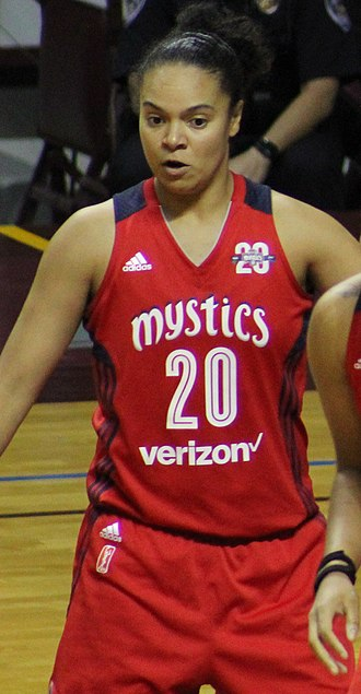 Kristi Toliver - Toliver during the 2017 WNBA Semifinals
