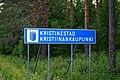 Kristiinankaupunki municipal border sign 20190705.jpg