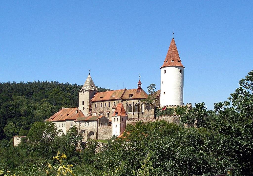 Krivoklat castle 01