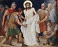 Kruisweg Sint-Pancratiuskerk, Heerlen, statie 10 Jezus wordt van zijn kleren beroofd.jpg