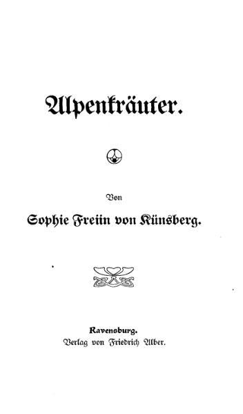 File:Kuensberg Alpenkraeuter.djvu