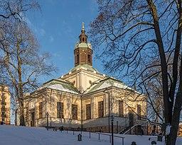 Kungsholms kirke i februar 2015.