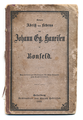 Kurzer Abriß des Lebens von Johann Georg Hauseisen in Bonfeld, Heidelberg 1866, Umschlag.png
