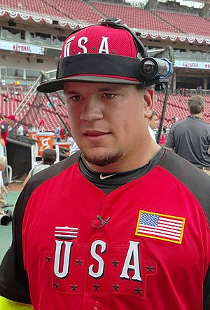 All-Star Futures Game - Kyle Schwarber at the 2015 All-Star Futures Game