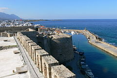 A view from the Kyrenia Castle