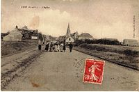 L'église Lucé avant 1910 Eure-et-Loir (France).jpg