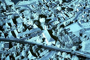 Aerial archeological photography - Solt, Hungary