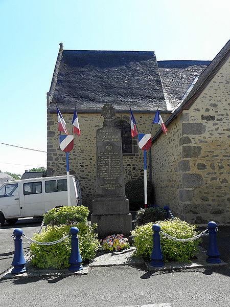 Monument aux morts de La Bazouge-des-Alleux (53).