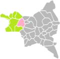La Courneuve (Seine-Saint-Denis) dans son Arrondissement.png