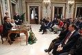 La alcaldesa entrega la Llave de Oro de Madrid al presidente de Perú 12.jpg