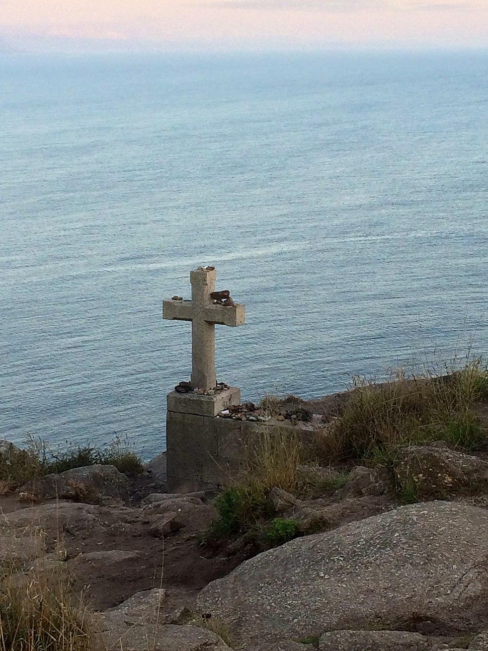 La croce a Finisterre