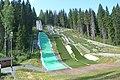 Laajavuori smaller ski jumping hills.JPG