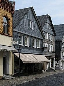 Laasphe, Haus Königsstraße Nr. 40, Im Kern Aus Dem Frühen 16. Jahrhundert