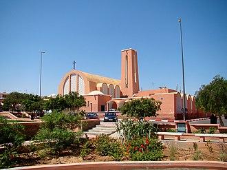 Laayoune - Image: Laayoune Cathedral 2011