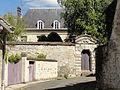 Labbeville (95), château, côté ouest rue du Moulin.jpg