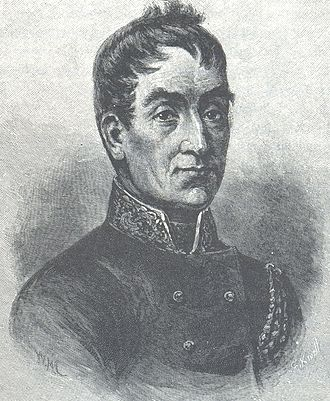 Lachlan Macquarie - An illustration from 1888