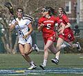Lacrosse CNU Christopher Newport University Captains Newport News Virginia Shenandoah Univ. Winchester Hornets women sports NCAA (32911837404).jpg