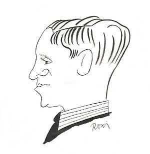 László Ladányi - Caricature of László Ladányi
