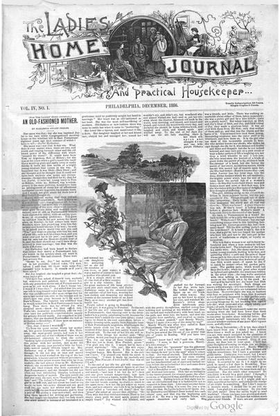 File:Ladies' Home Journal and Practical Housekeeper Vol.4 No.01 (December, 1886).pdf