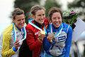 Ladies' sprint final winners, WOC 2013.JPG