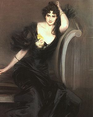 Lord Colin Campbell - Lady Colin Campbell (1897) by Giovanni Boldini