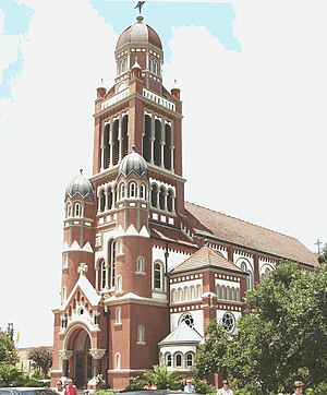 Lafayette, Louisiana - St John's Cathedral of Roman Catholic Diocese of Lafayette in Louisiana