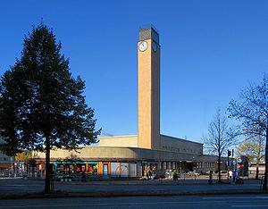 라흐티: Lahti - Coach station