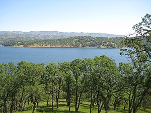 Spanish Flat Resort, California - Lake Berryessa from Spanish Flat Resort