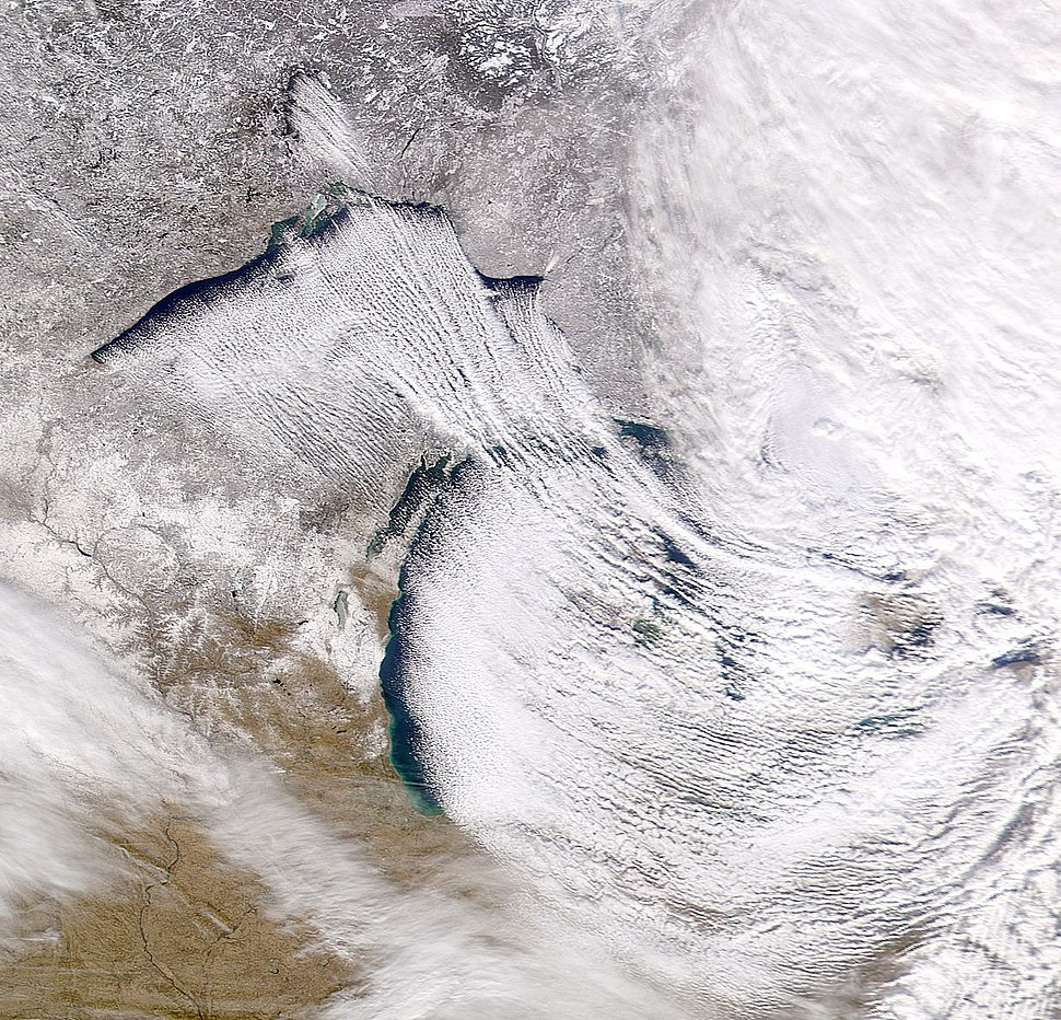 Lake Effect Snow on Earth