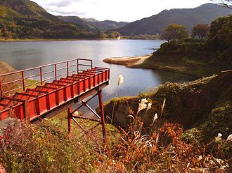 Waga River - Image: Lake Kinshu