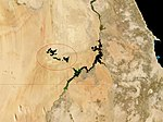 Lake Nasser and Toshka Lakes, Egypt-cerclé.jpg