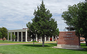 Lamar Community College - Image: Lamar Community College