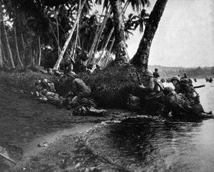 169th Infantry Regiment (United States) - Landing operations on Rendova Island 30 June 1943