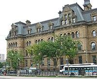 Το μέγαρο Langevin Block στην Οττάβα. Έδρα της Καναδικής Κυβέρνησης.